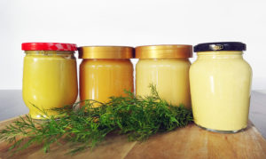 Honig-Dill-Senf-Sauce